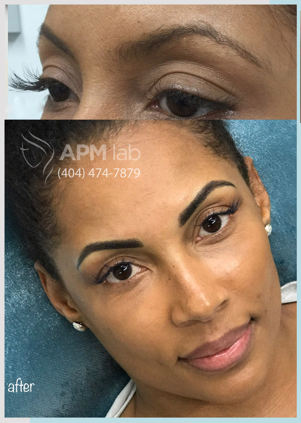 permanent makeup after